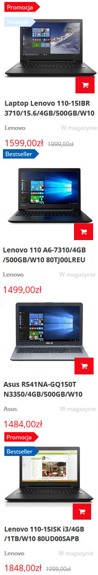 Laptop dla gracza - Sklep TechSat24.pl